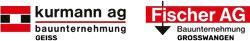 Kurmann AG | Fischer AG | Bauunternehmung Logo
